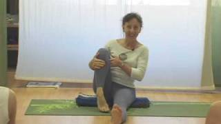 Yoga Seated Twist