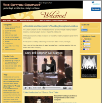 Cotton company Website